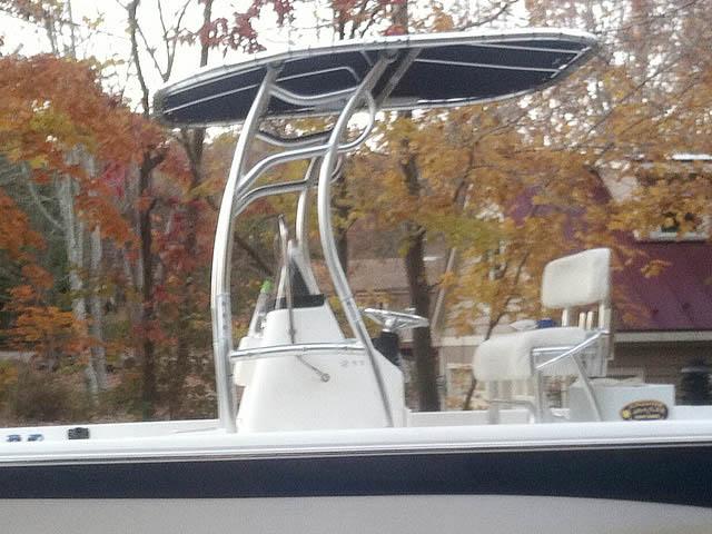 T top for Nauticstar, 2110 Baystar 2010 boats 98677-4