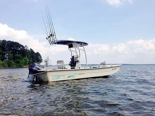 t top for 2001 Carolina Skiff 198 Semi-V  center console boat