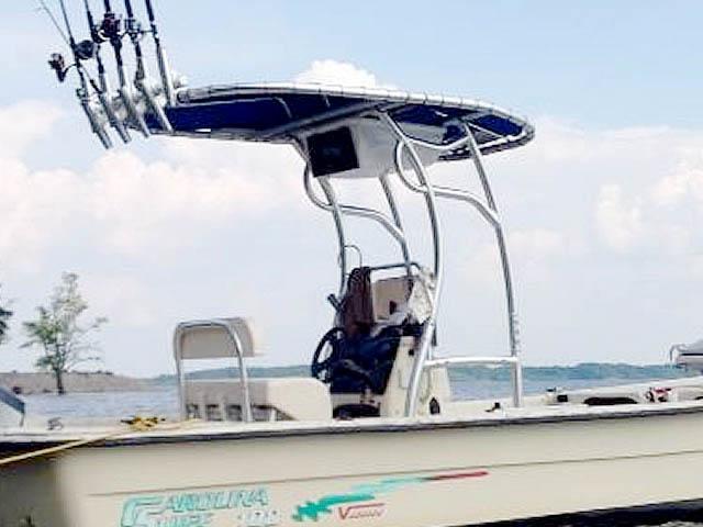 T top for 2001 Carolina Skiff 198 Semi-V  boats 99051-2