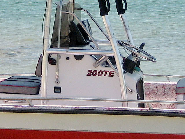 T top for 1996 Red-Fin 200TE boats 99265-3