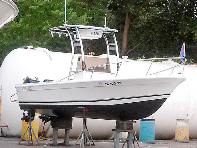 T top for 1977 Robalo boats 99710-3