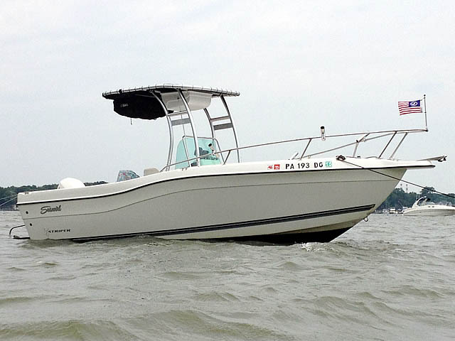 T top for 1998 Seaswirl Striper 21'CC boats 99806-4