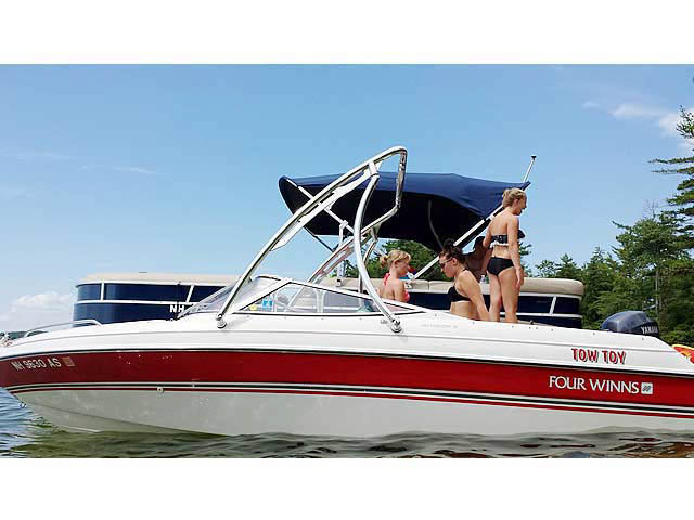 1994 Four Winns 180 Horizon SE (19') boat wakeboard towers