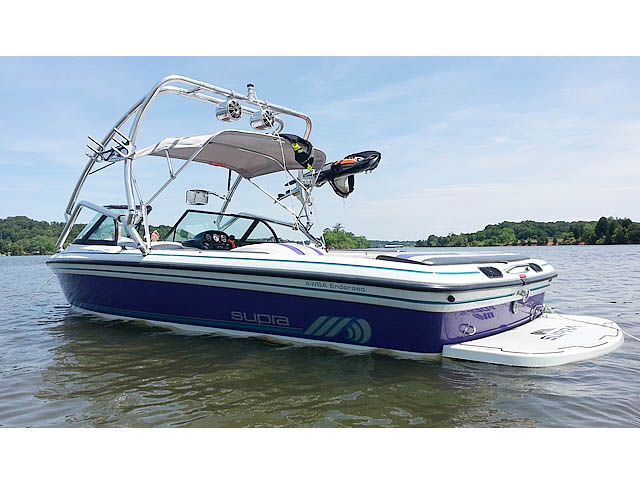 1997 Supra Vision boat wakeboard tower
