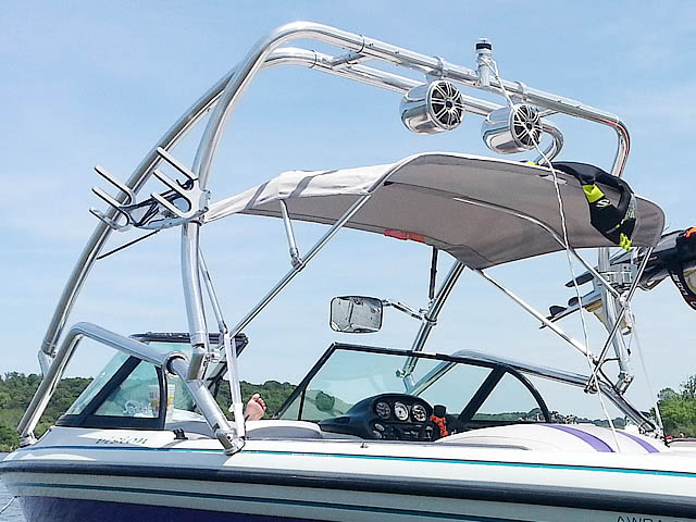 1997 Supra Vision boat wakeboard tower