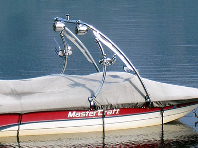 wakeboard towers for 1996 Mastercraft Pro Star boats using Aerial Ascent Tower