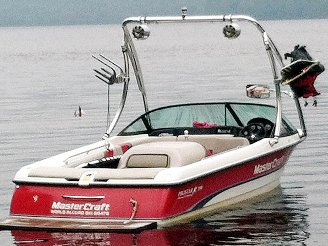 Ascent Tower ski tower Installed on 1996 Mastercraft Pro Star Boat