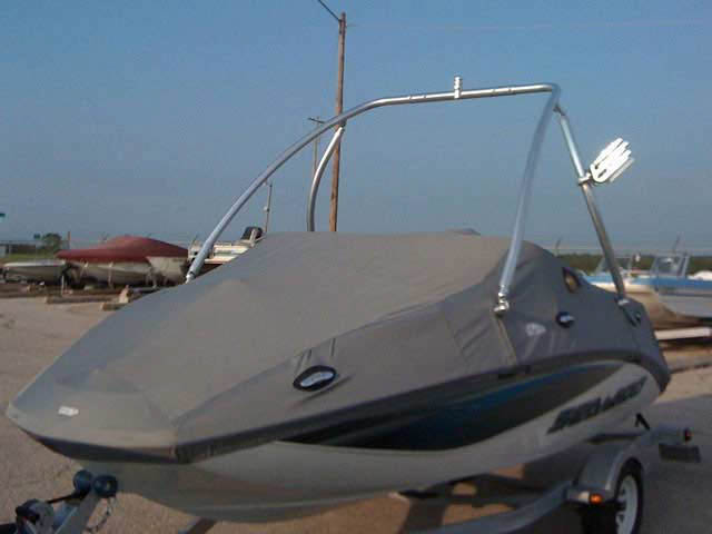 Seadoo challenger 180SE 2008 boat wakeboard tower