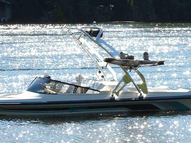 1993 Malibu Flightcraft Sportster boat wakeboard tower