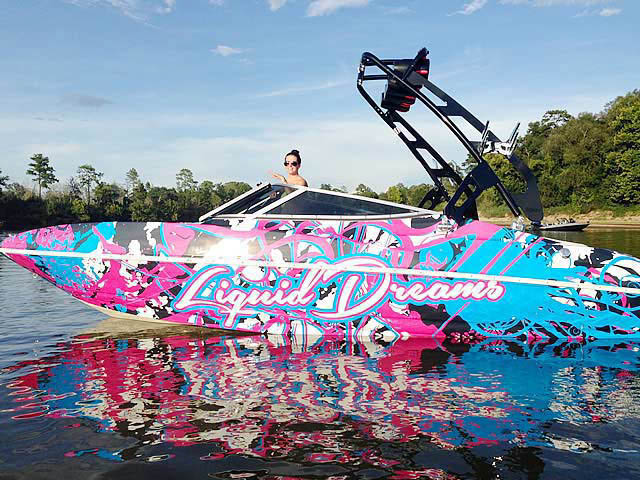 2006 Larson Senza 206 boat wakeboard tower