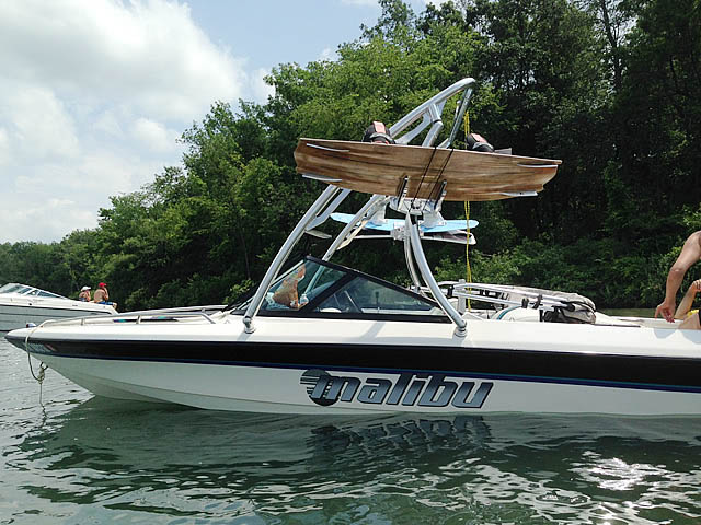 Wakeboard Tower for Malibu Boat