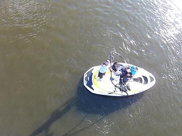 2009 Speedster 150 boat wakeboard tower