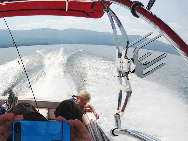 1994 Four Winns 180 Horizon SE boat wakeboard tower