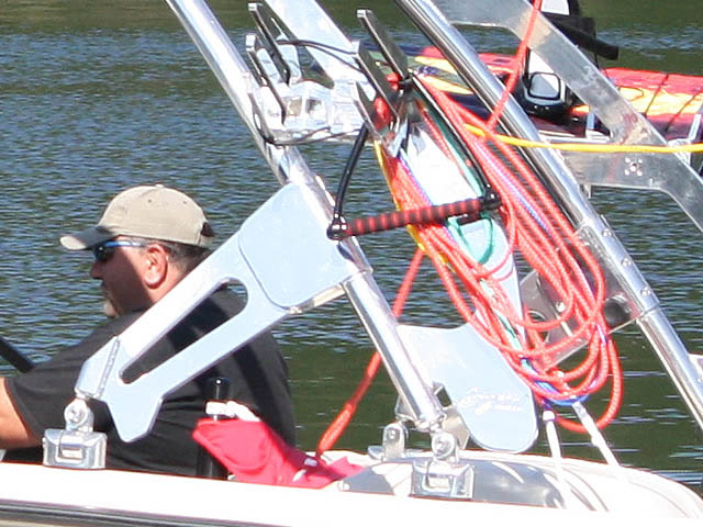 1999 Sport Nautique boat wakeboard towers installed on 10/01/2015