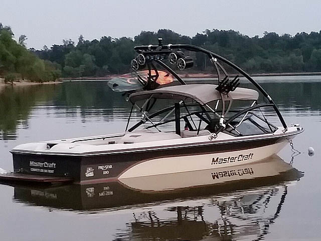 wakeboard tower for 1988 Mastercraft Pro Star 190 boats