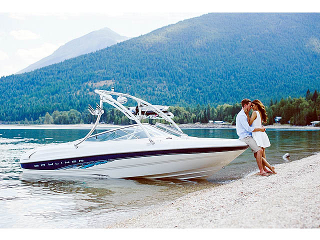 1998 Bayliner 185 Capri  boat wakeboard towers