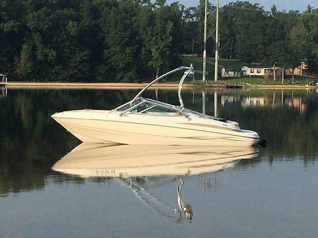 2003 Maxum 1900sr boat wakeboard tower