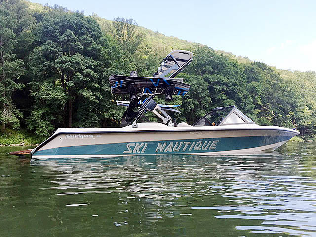 95 Ski Nautique Signature Edition  boat wakeboard towers installed on 09/18/2015