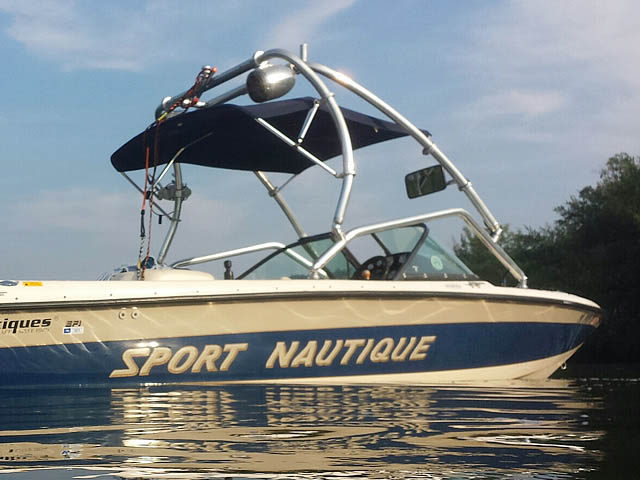 1998 Correct Craft Sport Nautique boat wakeboard towers installed on 09/20/2015