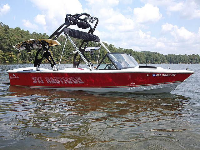 wakeboard tower for 1985 Correct Craft Ski Nautique boat reviewed 09/21/2015