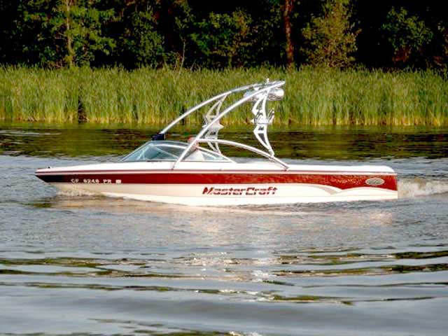 wakeboard towers for 2000 mastercraft prostar 190 boats using Aerial Assault Tower