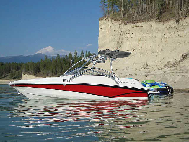 wakeboard tower for 2010 Campion Alante545 boats