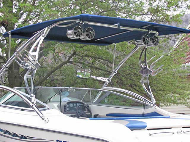 1994 Stingray 656ZX boat wakeboard tower