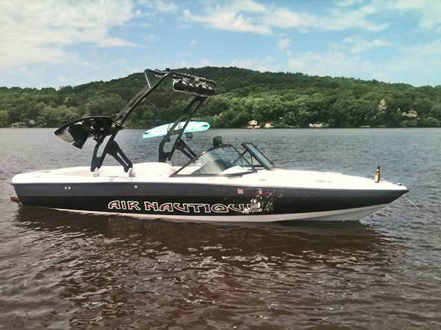 FreeRide Tower wakeboard towers for 1998 Air Nautique boats