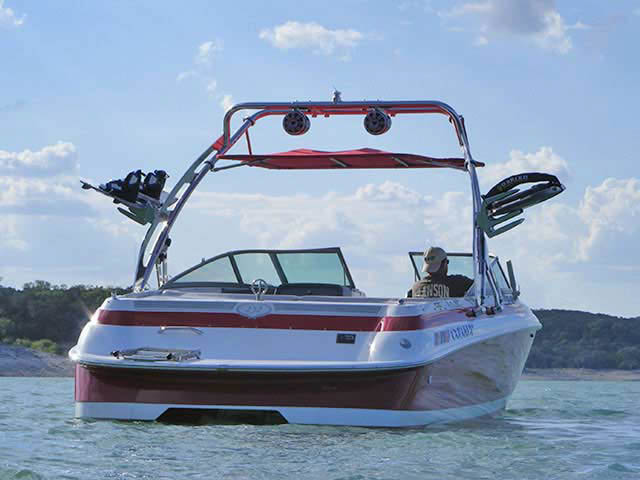 1994 Cobalt 252 boat wakeboard tower