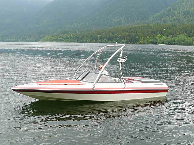 wakeboard tower for 1989 Reinelle 180s boat reviewed 06/13/2011