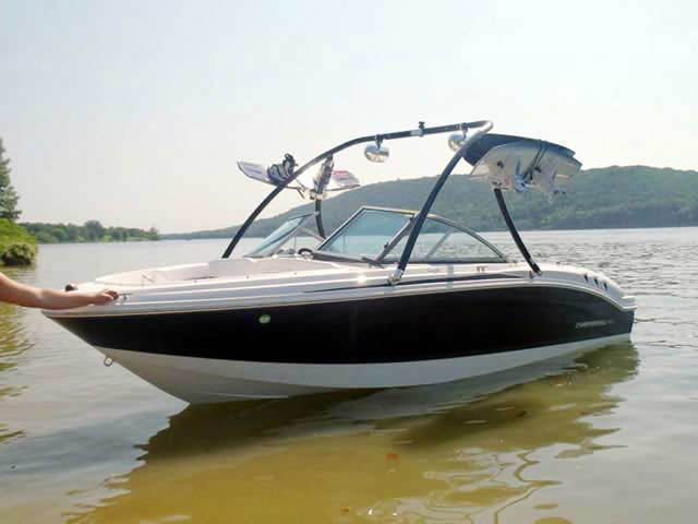 2012 Chaparral h20 19 boat wakeboard tower