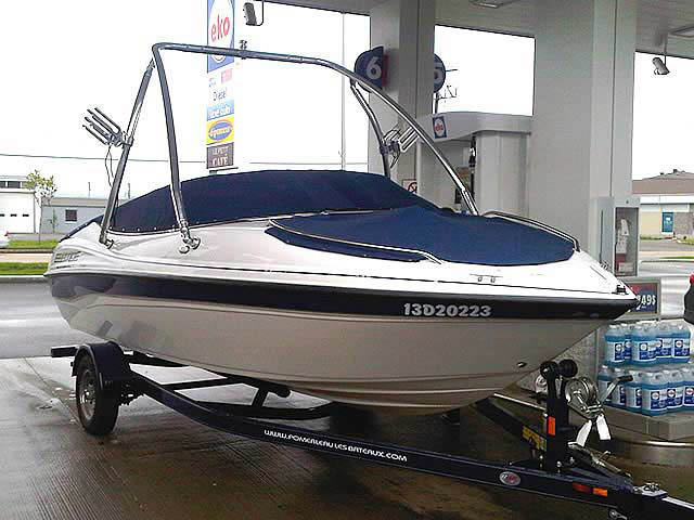 wakeboard tower for 2001 Campion Ebbtide 190  boats