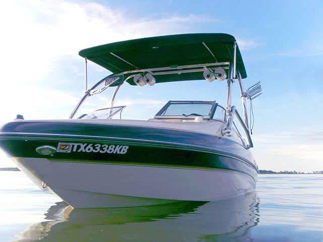 Glastron 2005 GX205 boat wakeboard tower