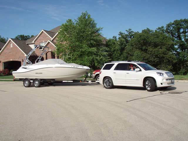 2010 Seadoo 210 Challenger SE boat wakeboard tower