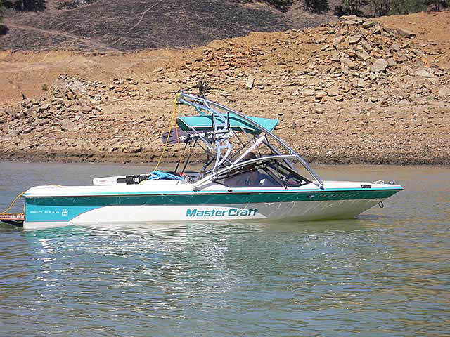 Assault Tower ski tower Installed on 1990 ProStar 190 Boat