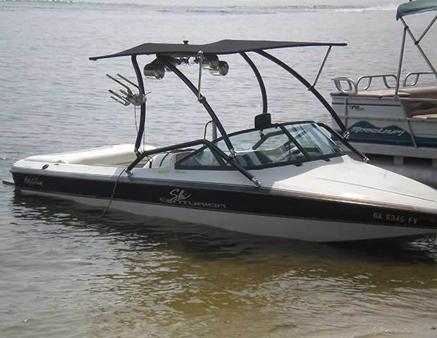 1996 ski centurion lapoint boat wakeboard towers