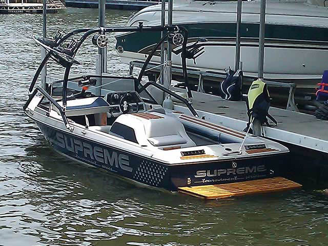 wakeboard tower for 1988 Ski Supreme boat reviewed 07/18/2011