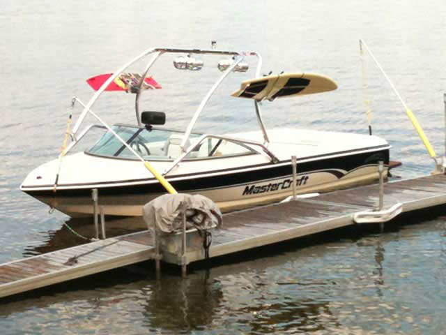Airborne Tower ski tower Installed on Mastercraft prostar 190 Boat