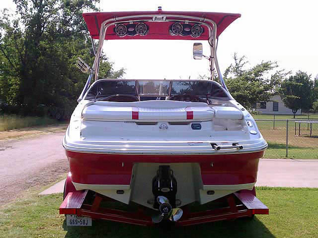 2008 Caravelle 237 LS boat wakeboard tower
