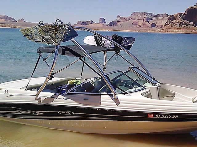 2004 Sea Ray 180 Sport boat wakeboard towers