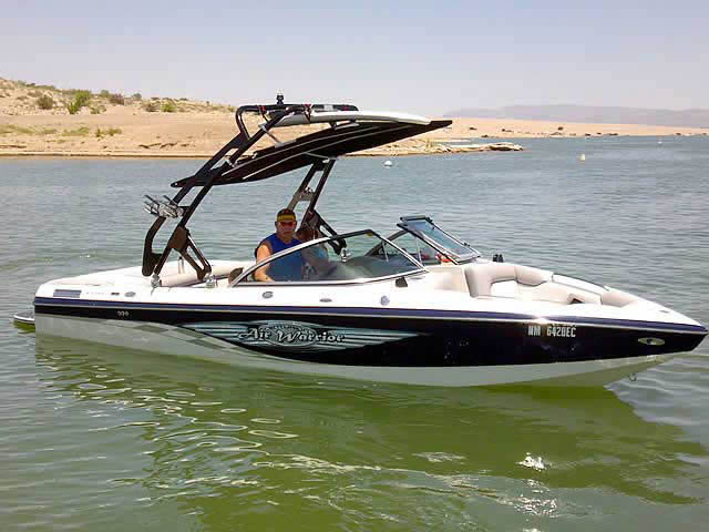 2007 Centurion Elite V boat wakeboard towers