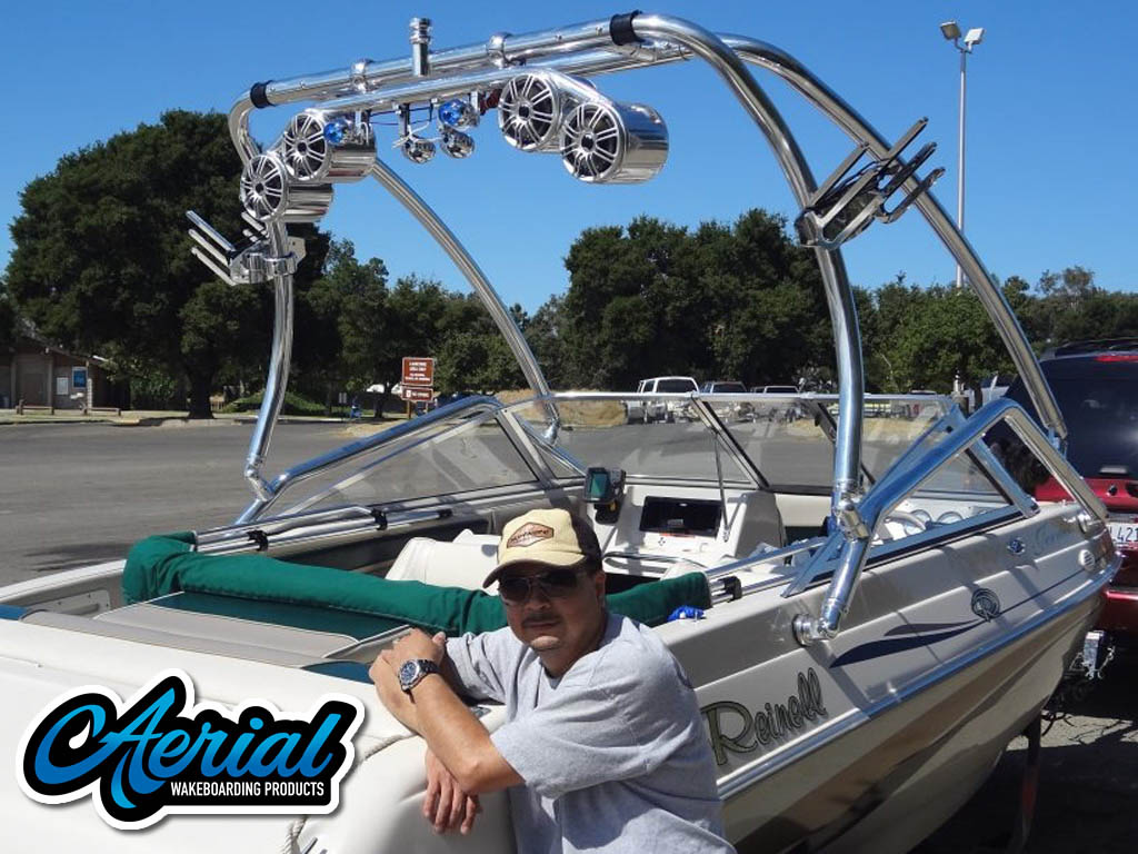 Airborne Tower wakeboard towers for 1997 Reinell boats