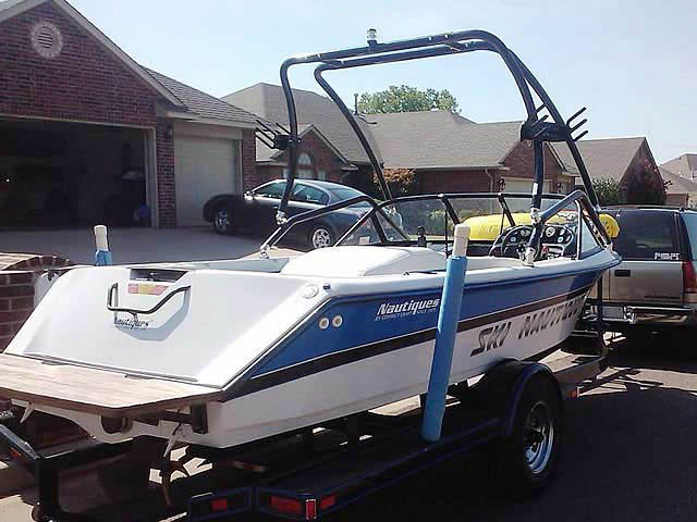 1994 Correct Craft Ski Nautique boat wakeboard tower