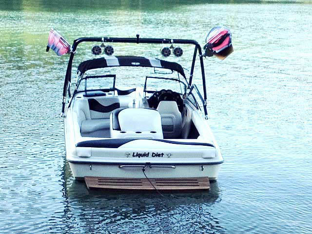 1998 Tige pre2200i boat wakeboard tower