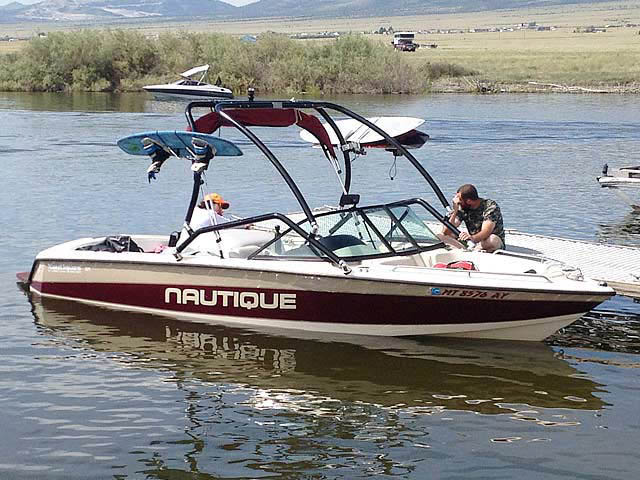 Airborne Tower wakeboard towers for 1997 Sport Nautique boats