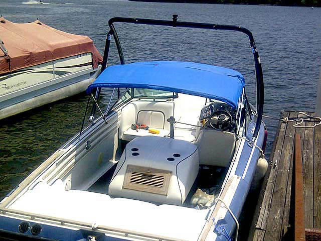1986 Supra Sunsport boat wakeboard tower