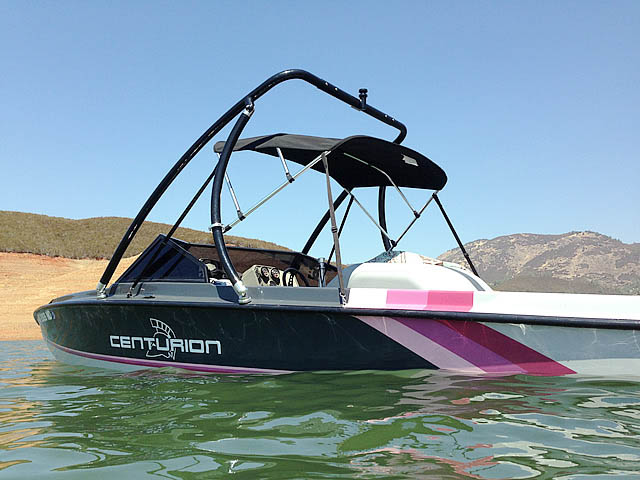 1992 Ski Centurion Falcon XP boat wakeboard towers