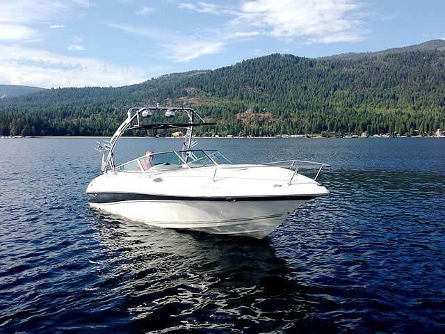 2003 Doral 245 CU boat wakeboard tower