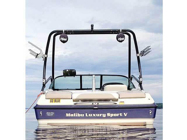 2001 Malibu Sunsetter VLX  boat wakeboard tower