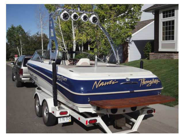 2001 MasterCraft tower
